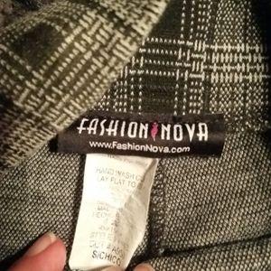 Fashion Nova Pants & Jumpsuits - High waisted plaid pants